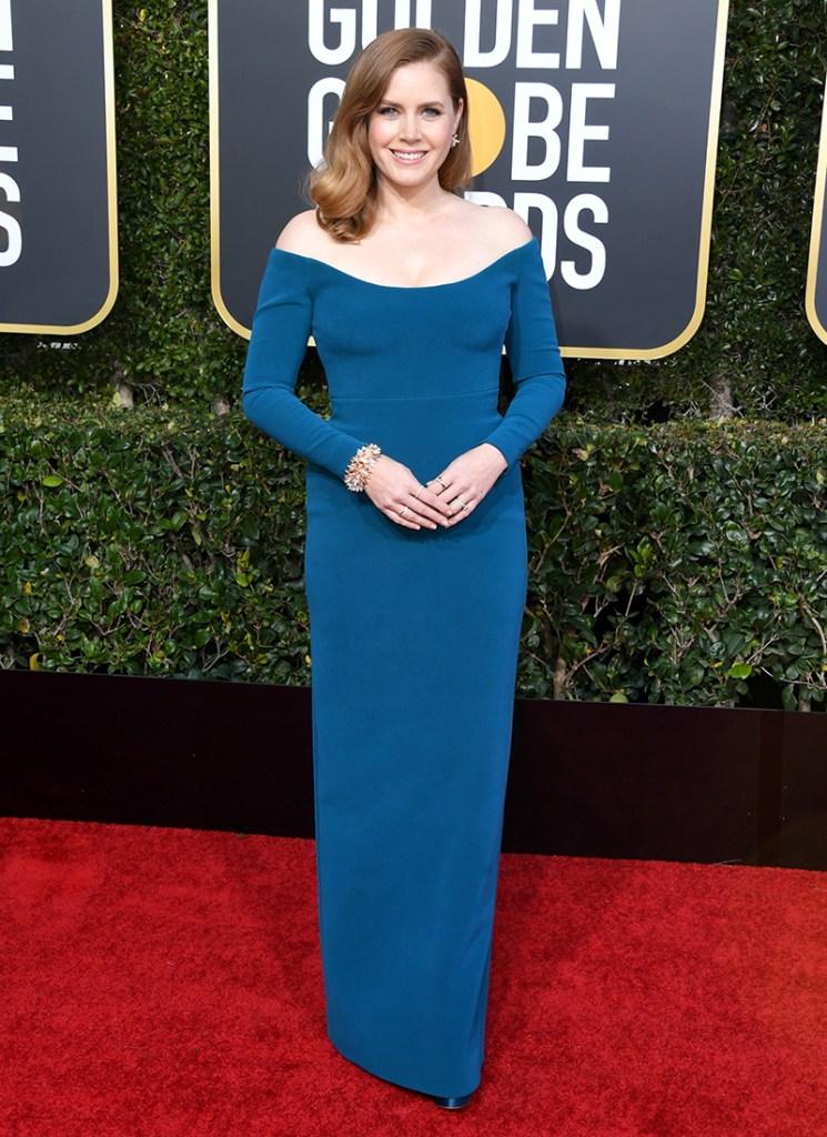 Golden Globes 2019 Amy Adams