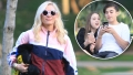 Gwen Stefani Kingston Rossdale Hugs His Girlfriend While Out With Mama