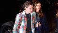 Hanna Cross holding hands with boyfriend Brooklyn Beckham in NYC
