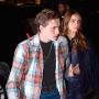 Hanna Cross holding hands with boyfriend Brooklyn Beckham in NYC