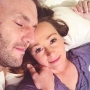 Jamie Otis And Doug Hehner Smile And Lie In Bed