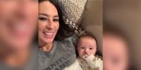 Joanna Gaines Cuddles Son Crew