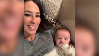 Joanna Gaines Cuddles Son Crew