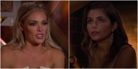 Bachelor Kelsey Weier Crying and Hannah Ann Sluss Champagnegate