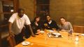 Kanye West, Kid Cudi, Timothee Chalamet, and Pete Davidson