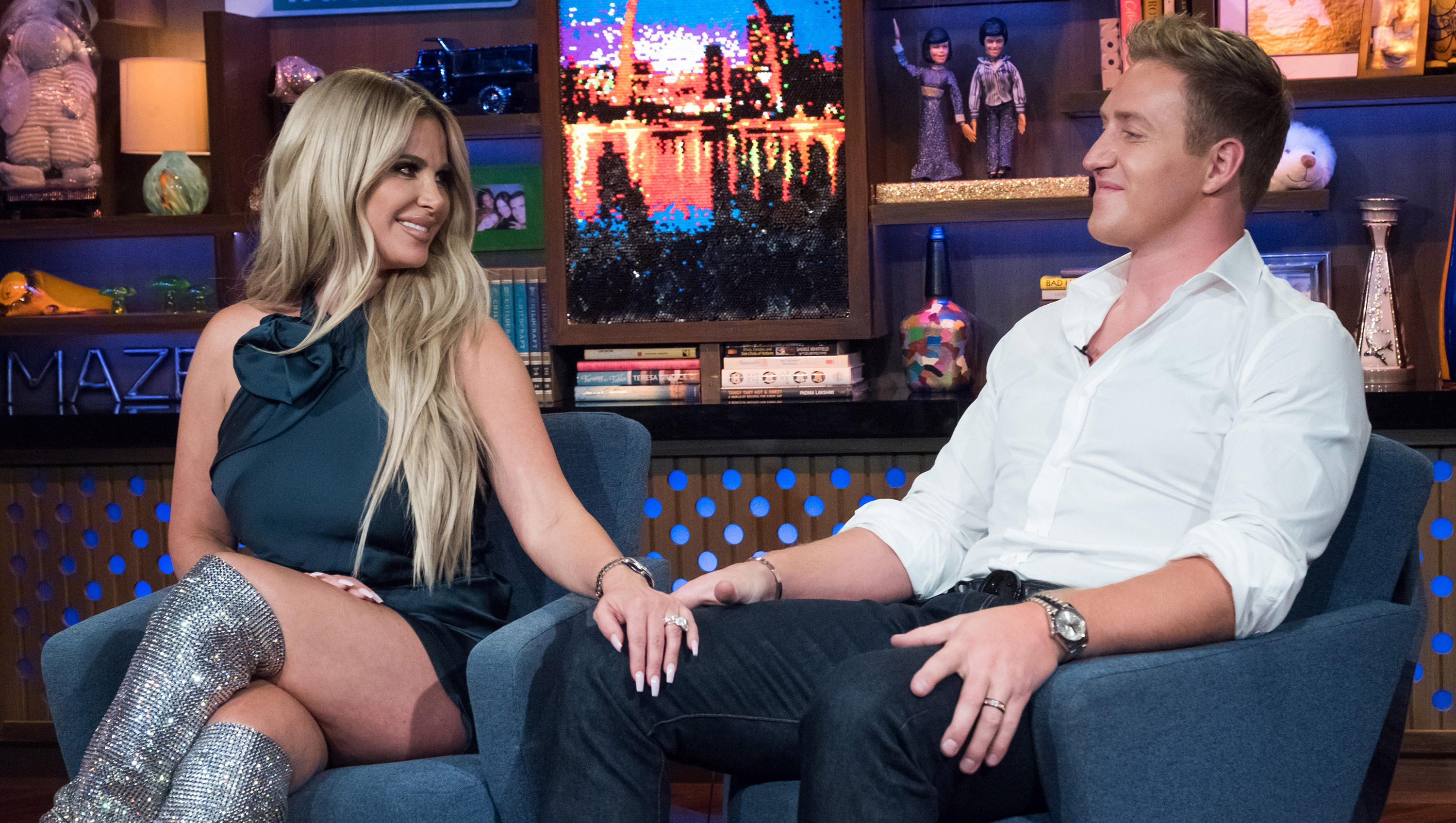 Kim Zolciak and Kroy Biermann on Watch What Happens Live