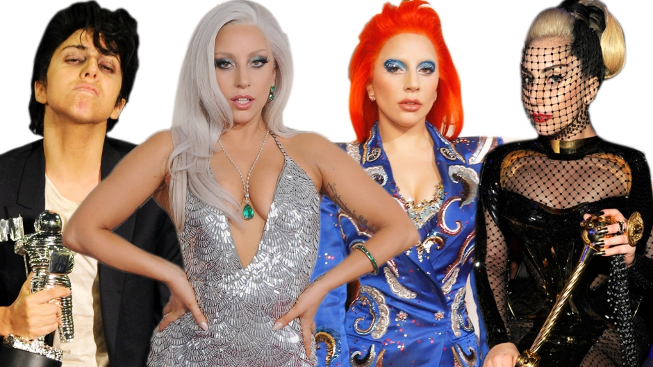 Lady Gagas Best And Wackiest Looks From Awards Shows Past