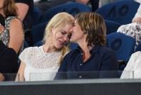 Nicole Kidman and Keith Urban at the Australian Open