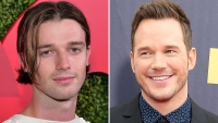 Patrick Schwarzenegger Loves Chris Pratt