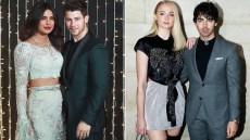 Priyanka Chopra Sophie Turner Nick Jonas Joe Jonas Party in Snow