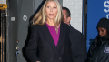 Gwyneth Paltrow walking in NYC