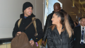 Ariana Grande walking with ex-boyfriend Ricky Alvarez in the NYC airport