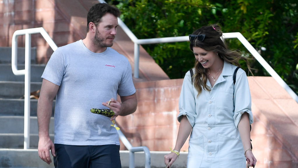 Katherine Schwarzenegger is getting fiance chris pratt in shape before their summer wedding
