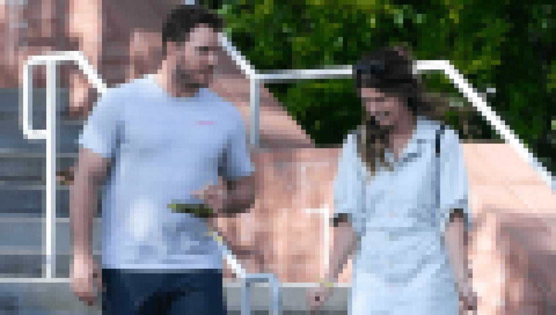 Katherine Schwarzenegger is getting fiance chris pratt in shape before their summer wedding