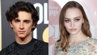 imothee Chalamet and Lily Rose Depp