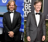 William H Macy Shameless cast then and now