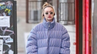 Gigi Hadid Wearing A Puffer Jacket And No Makeup Is A Mood