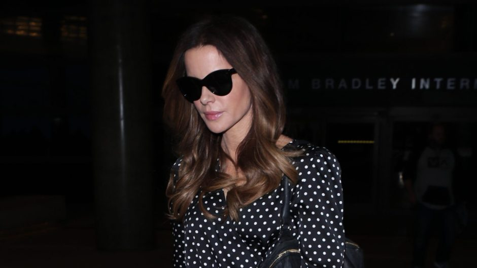 kate beckinsale lax airport