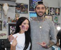 kelsy-karter-harry-styles-face-tattoo-romeo-lacoste