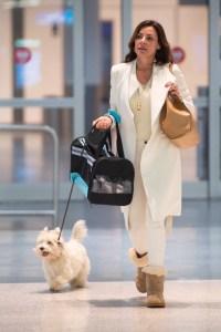 'RHONY' Luann de Lesseps airport
