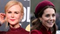 Nicole Kidman, Kate Middleton, Split Image