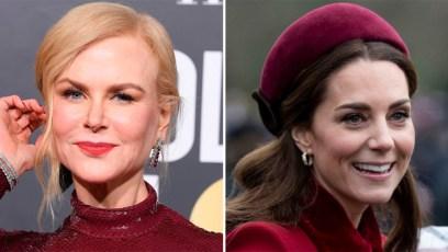 Nicole Kidman, Kate Middleton, Split Image
