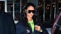 rihanna goes clubbing nyc