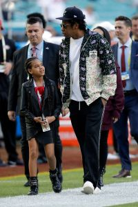 Blue Ivy Photos Through the Years Super Bowl With Dad Jay Z