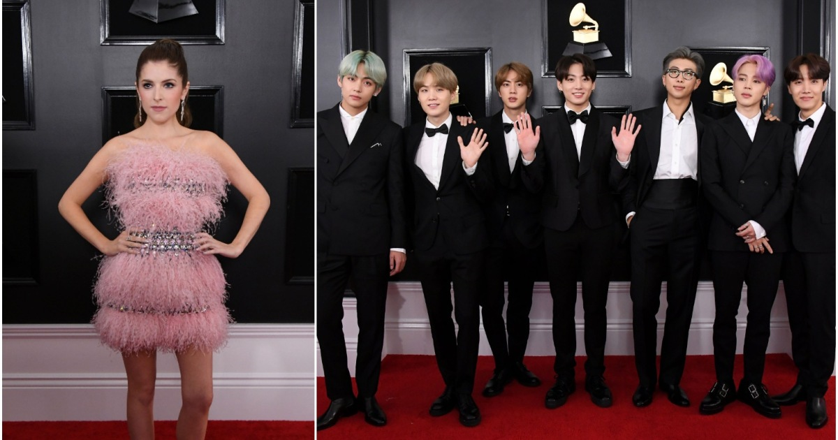 Anna Kendrick's New Friendship With Korean Pop Band BTS Is Giving Us Life