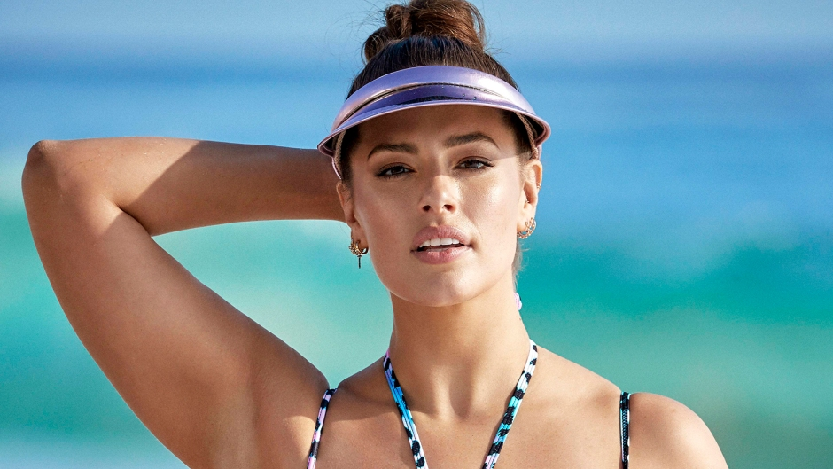 Ashley Graham Flaunts Her Gorgeous Curves in Two-Piece Bikini