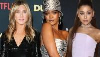 Jennifer Aniston Rihanna Ariana Grande Badass Single Celebs