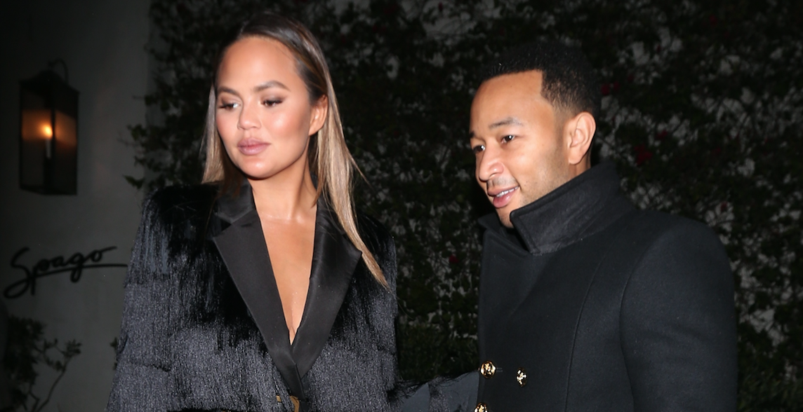 Mom and Dad's Night Out! John Legend and Chrissy Teigen Spotted Having Romantic Dinner in Beverly Hills