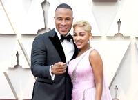 DeVon Franklin and Meagan Good.