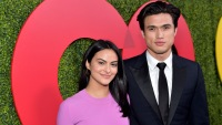 Riverdale actor Charles Melton looks like he got girlfriend camila mendes name tattooed on his chest
