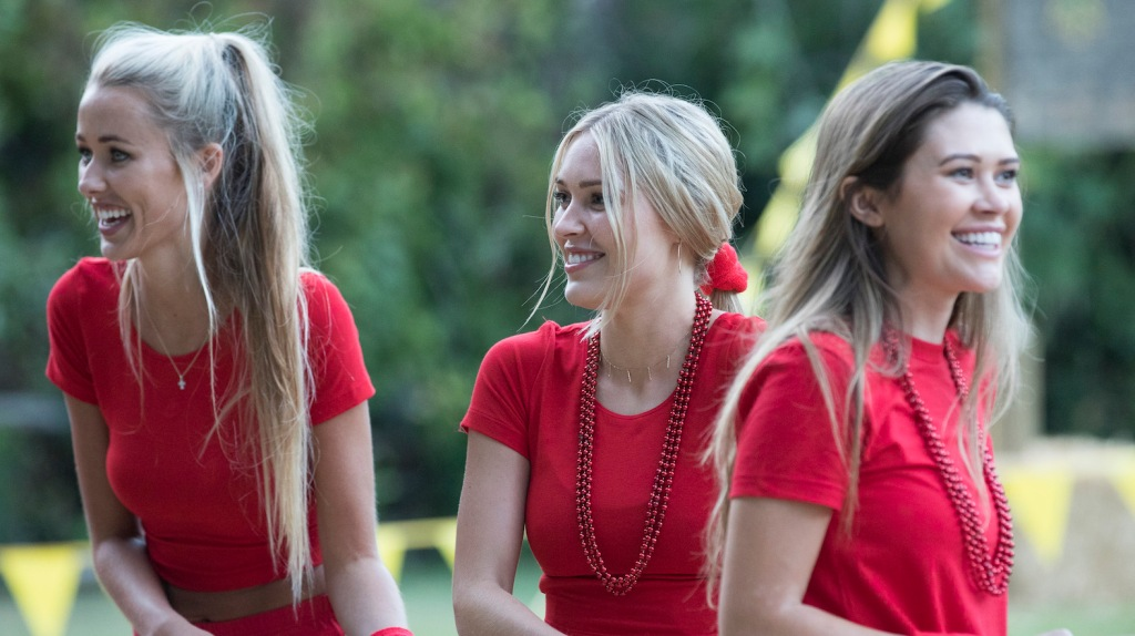 Bachelor contestants Heather and Cassie are 'friends' from college