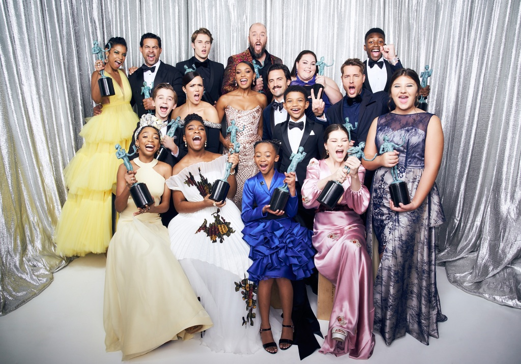 This is us cast during the sag awards
