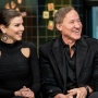 Terry and Heather Dubrow wearing all black