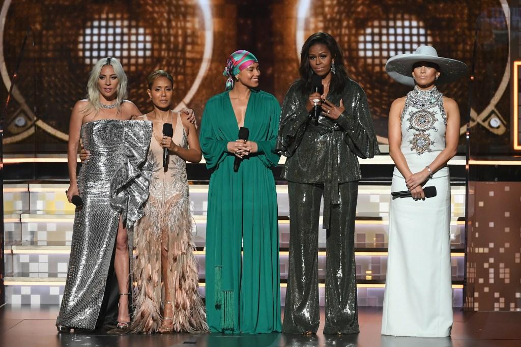 Lady Gaga 61st Annual GRAMMY Awards - Inside