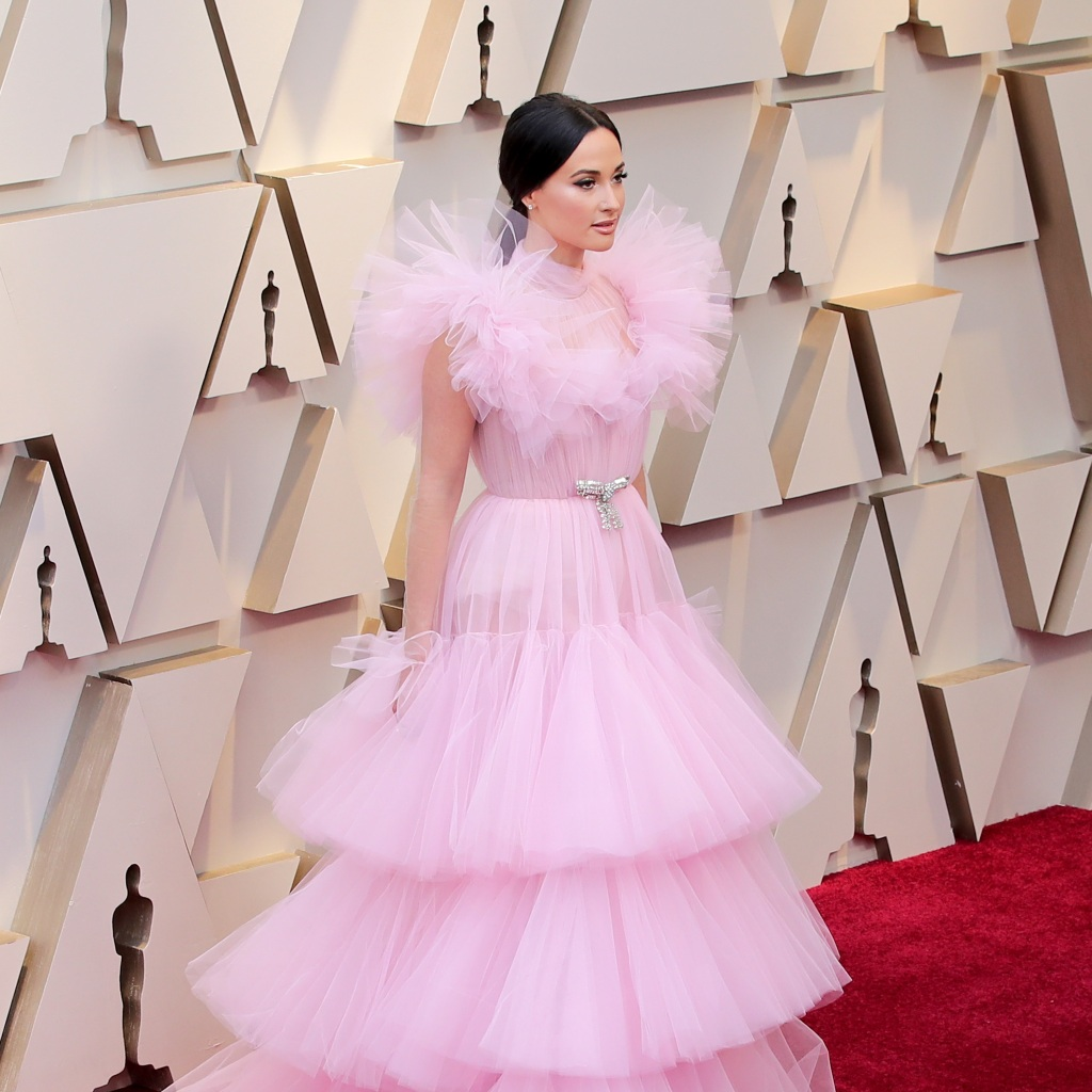 Space Cowboy Kacey Musgraves: Kacey Musgraves's 2019 Oscars Look: See Her Pink Princess Gown