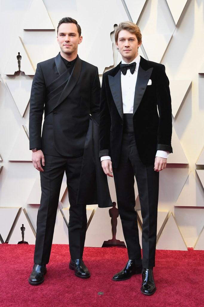 Joe Alwyn Nicholas Hoult 91st Annual Academy Awards - Arrivals