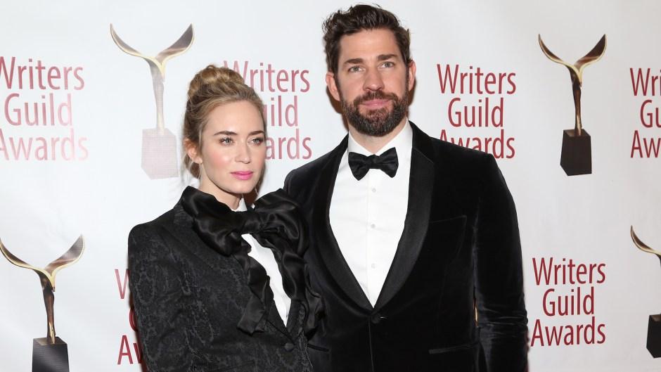 Emily Blunt John Krasinski 71st Annual Writers Guild Awards New York Ceremony