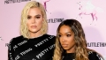 Khloe Kardashian Malika Haqq wear matching outfits during first public appearance after tristan cheated on khloe with jordyn woods