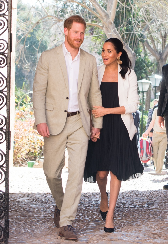 Prince Harry Meghan Markle in Morocco
