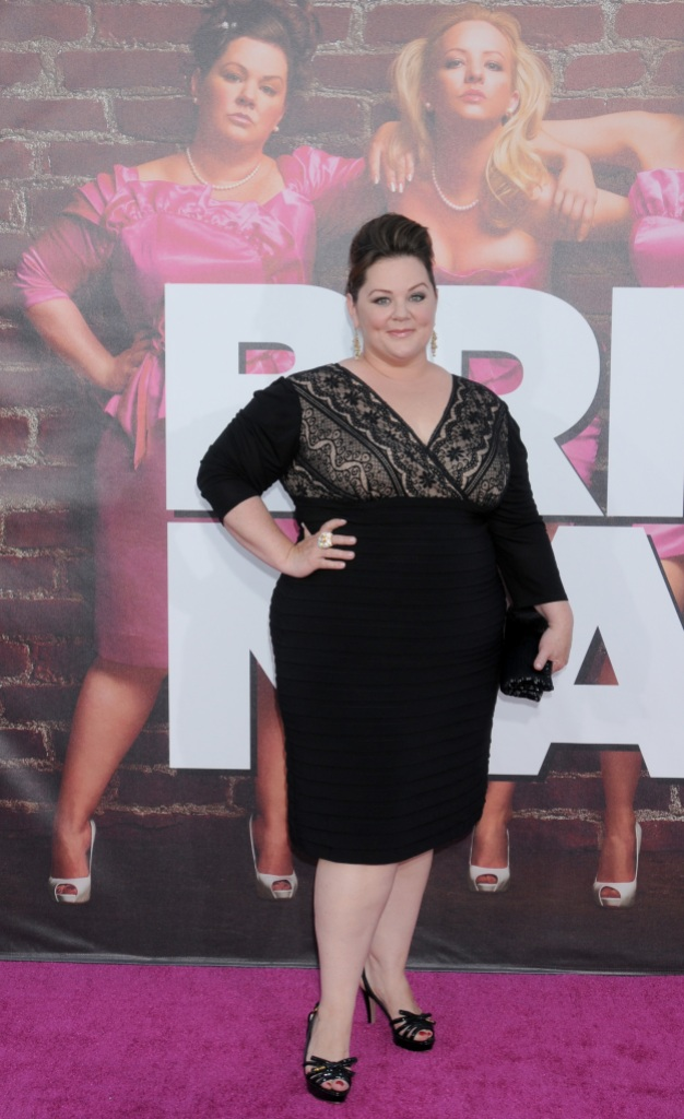 Melissa McCarthy weight when she was on bridesmaids
