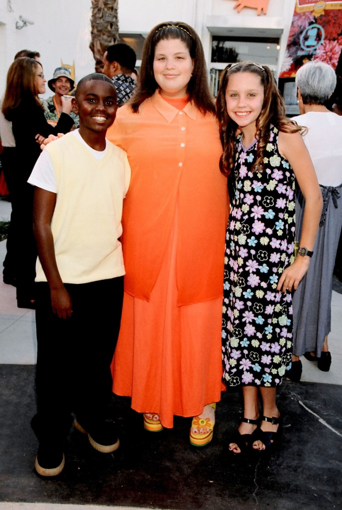 Lori Beth Denberg and Amanda Bynes 1998 Kid's Choice Awards