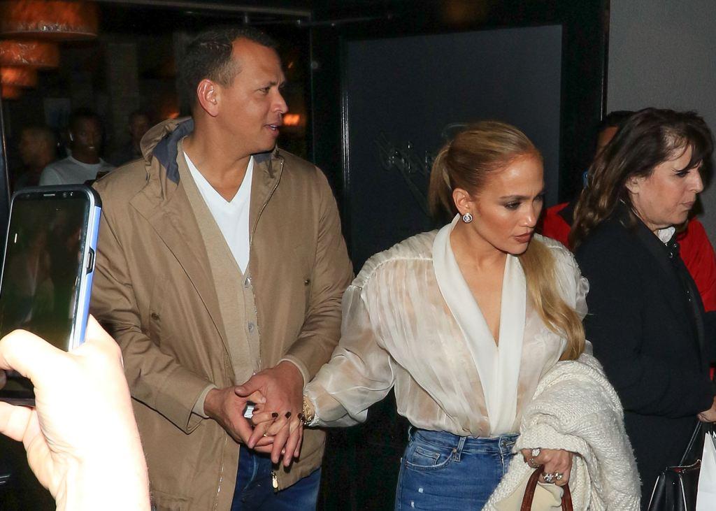Jennifer Lopez Alex Rodriguez Valentine's Day story