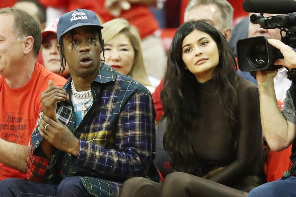 Kylie Jenner Travis Scott engaged