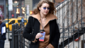 Gigi Hadid leaving Zayn Malik's apartment in NYC