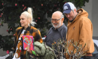 Gwen Stefani and Blake Shelton spend time with her family