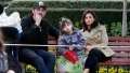 Jenna Dewan and her boyfriend Steve Kazee take her daughter Everly out on a fun day to Disneyland